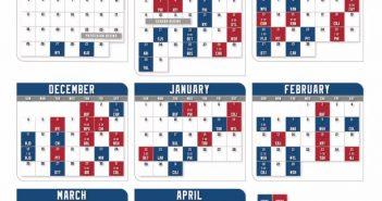 rangers schedule