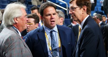 Glen Sather, Jeff Gorton, David Poile