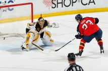 Brandon Pirri beats Tuukka Rask in a shootout.