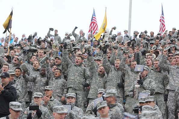 Army Black Knights Vs Air Force Falcons, College Football at West Point, New York